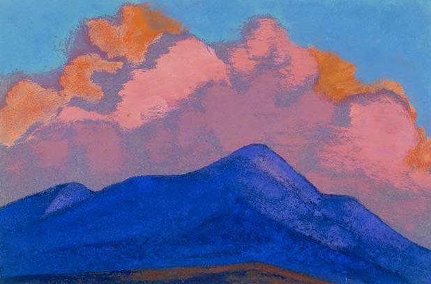Ak-Tag # 21 Ak-Tag (Cloud flame). Roerich N.K. (Part 4)
