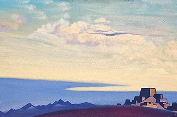 Tibet. Evening. Roerich N.K. (Part 4)