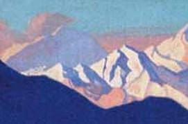 Evening light # 172. Roerich N.K. (Part 4)