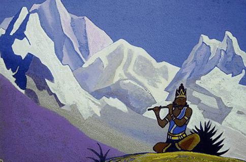 Krishna # 145. Roerich N.K. (Part 4)