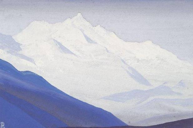 Himalayas # 64 In the snowy tops. Roerich N.K. (Part 4)