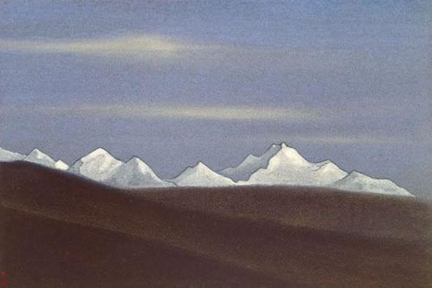 Гималаи #138 Снежная цепь. Roerich N.K. (Part 4)