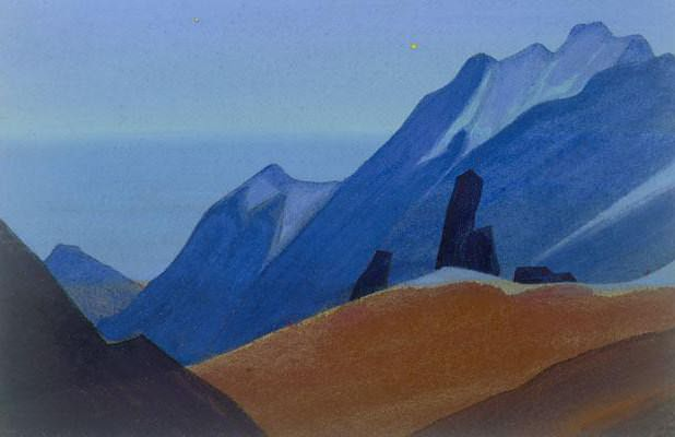 Himalayas # 53 Lights Star. Roerich N.K. (Part 4)
