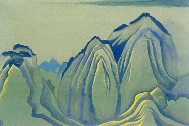 Гималаи #162 Складчатые горы. Рерих Н.К. (Часть 4)