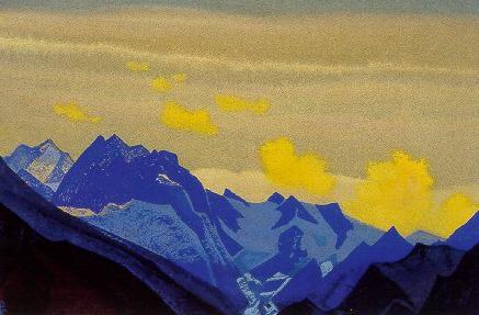 Glacier - Lahul # 202. Roerich N.K. (Part 4)