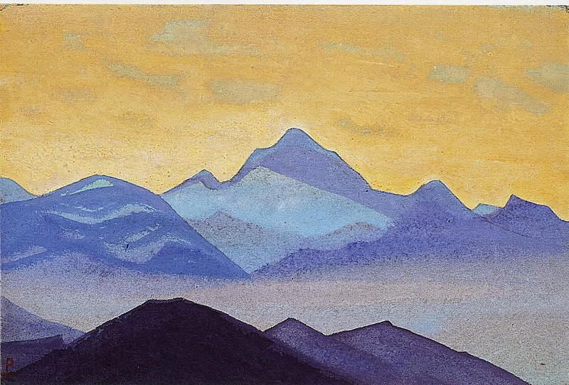 Foothill # 125. Roerich N.K. (Part 4)