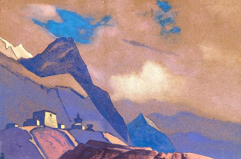 Тибет. Гималаи #115. Рерих Н.К. (Часть 4)
