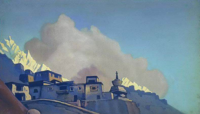 Tibet # 175. Roerich N.K. (Part 4)