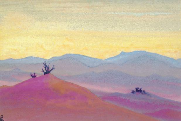 Desert # 99. Roerich N.K. (Part 4)
