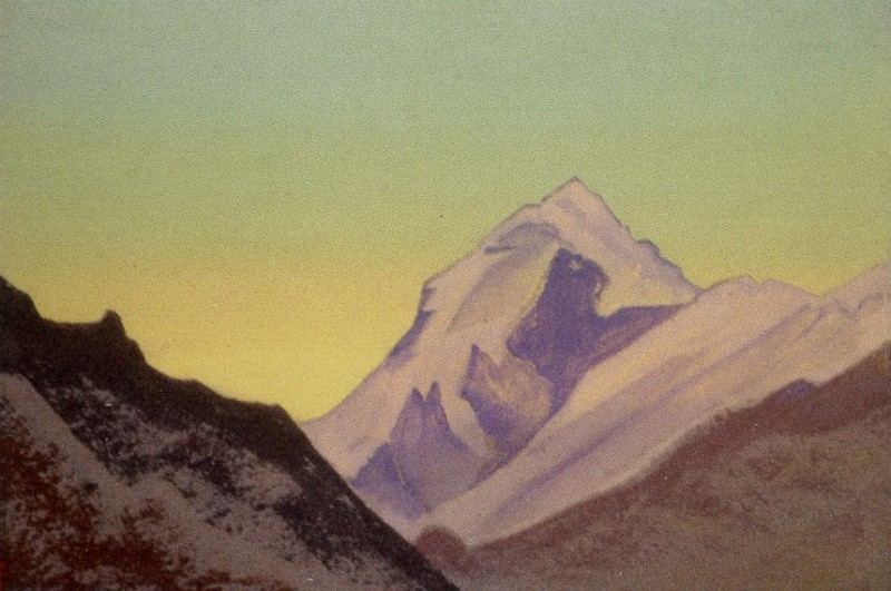 Гималаи #192 Рассвет. Рерих Н.К. (Часть 4)