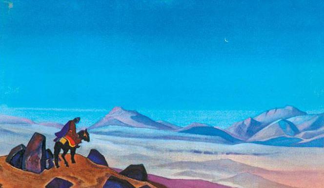 Mongolia (traces). Roerich N.K. (Part 4)