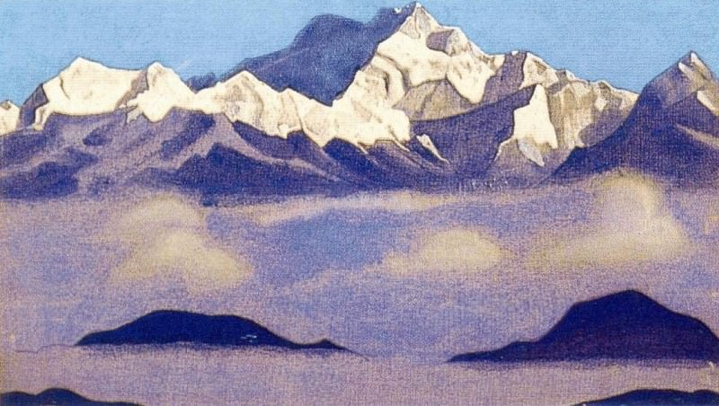 The Himalayas (Kanchenjunga). Roerich N.K. (Part 4)