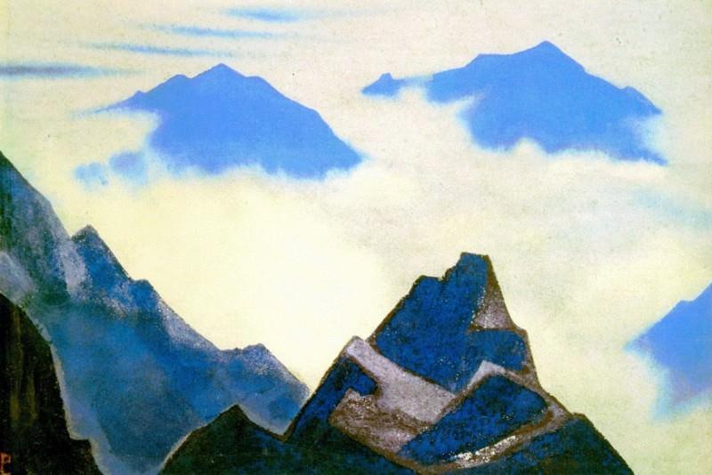 Rocks Lahul # 93. Roerich N.K. (Part 4)