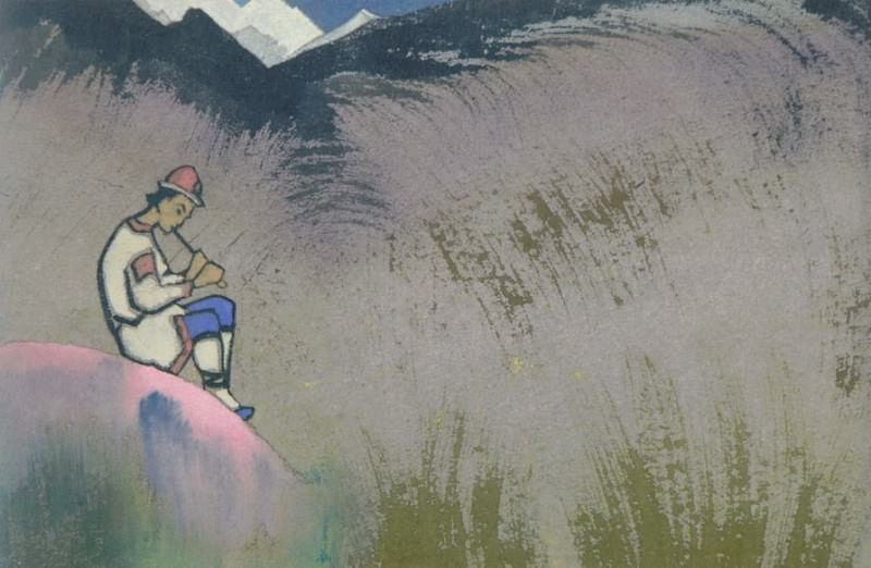 Krishna Lel. Thumbnail # 192. Roerich N.K. (Part 4)