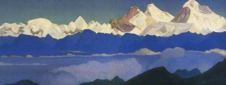 Everest # 23 Everest (Dzhomolungma). Roerich N.K. (Part 4)