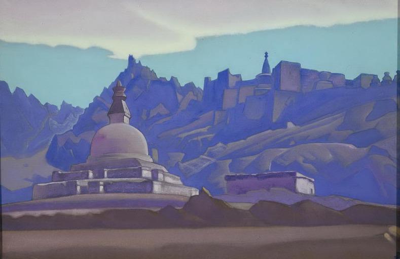 Hsi # 72 (Mortar. Ladak). Roerich N.K. (Part 4)