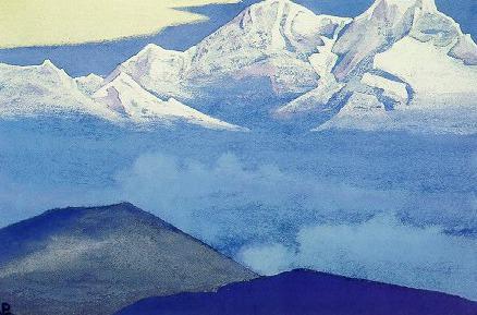 Kanchenjunga # 7b. Roerich N.K. (Part 4)