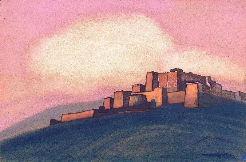 Тибетская крепость #121. Рерих Н.К. (Часть 4)