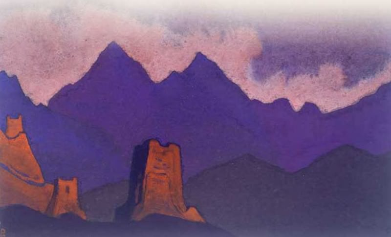 Chinese tower # 237. Roerich N.K. (Part 4)