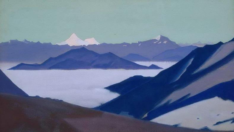 Туман в горах. Гималаи #24. Рерих Н.К. (Часть 4)