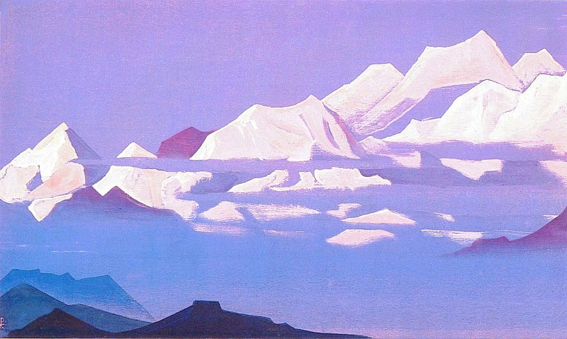 Sacred Himalayas. Roerich N.K. (Part 4)