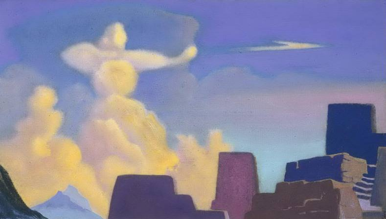 Defender # 90 Defender (Cloud arrow). Roerich N.K. (Part 4)