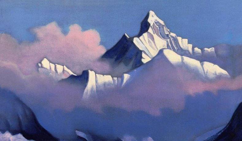 Nanda Devi (Himalayas). Roerich N.K. (Part 4)