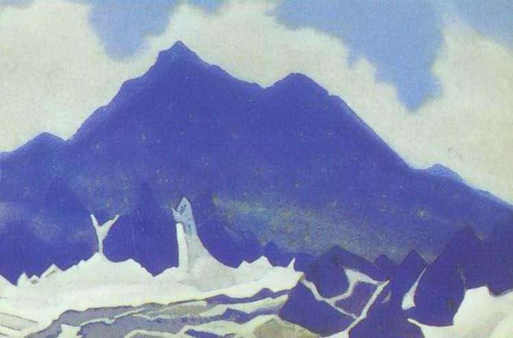 Гималаи #104 Снега и синие скалы. Рерих Н.К. (Часть 4)
