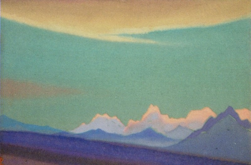 Everest # 83. Roerich N.K. (Part 4)