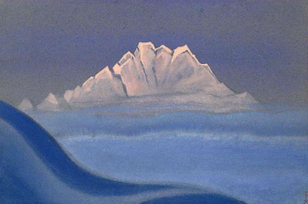 Tent # 137 Hip mountain (Snow fan). Roerich N.K. (Part 4)