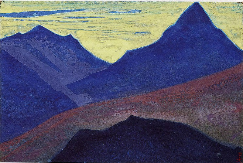 The Himalayas # 198. Roerich N.K. (Part 4)