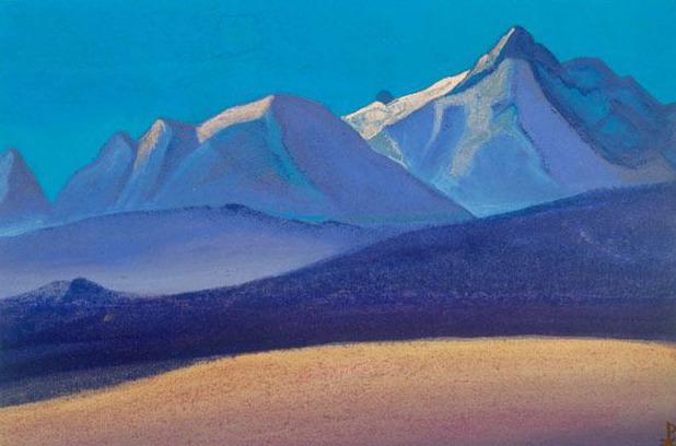 Гималаи #205 Перед закатом. Рерих Н.К. (Часть 4)