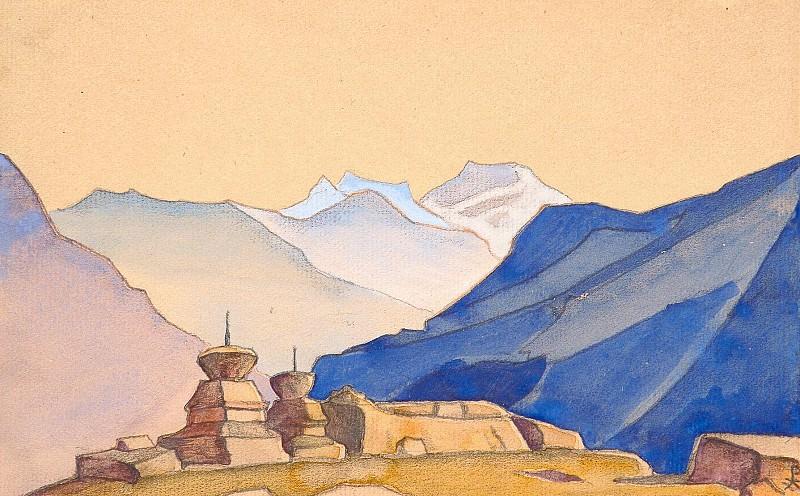Hag. Album leaf # 56. Roerich N.K. (Part 4)