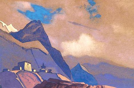 Tibet. At Brahmaputra # 95. Roerich N.K. (Part 4)