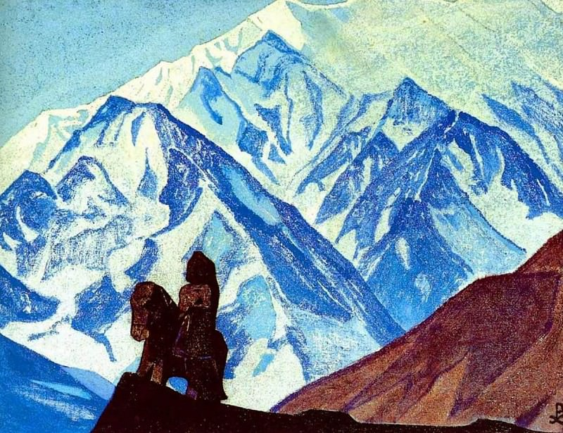 Guga Chohan # 64 Guga Hoch (slip in the author list?). Roerich N.K. (Part 4)