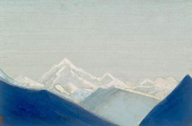 Гималаи #116 Белое царство. Рерих Н.К. (Часть 4)