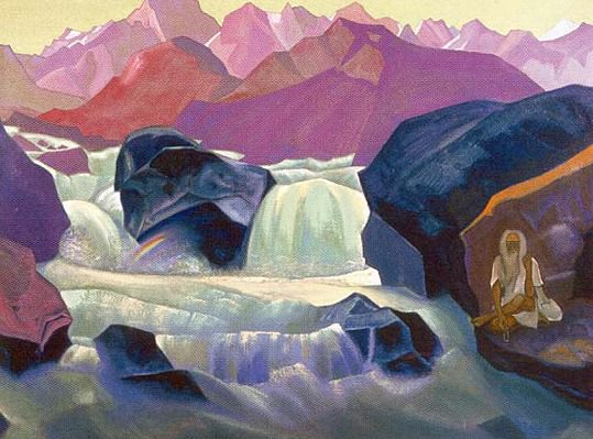 Santana (river Himalayan). Roerich N.K. (Part 4)