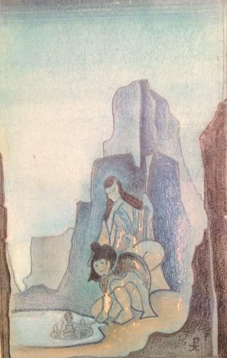 Терафим #44 (рисунок). Рерих Н.К. (Часть 4)