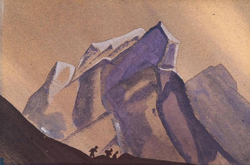 Pass - Storm # 96 (pass. Storm). Roerich N.K. (Part 4)