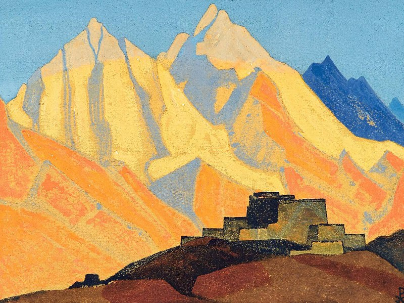 Sacred Himalayas # 118. Roerich N.K. (Part 4)