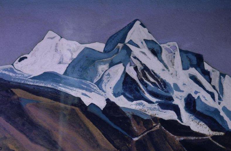 Chumulbhari. Tibet # 35. Roerich N.K. (Part 4)