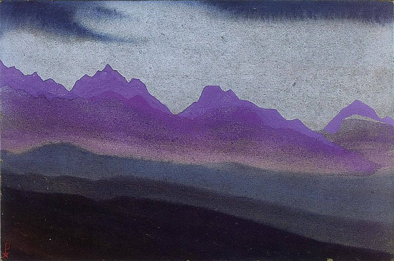 The Himalayas # 129. Roerich N.K. (Part 4)