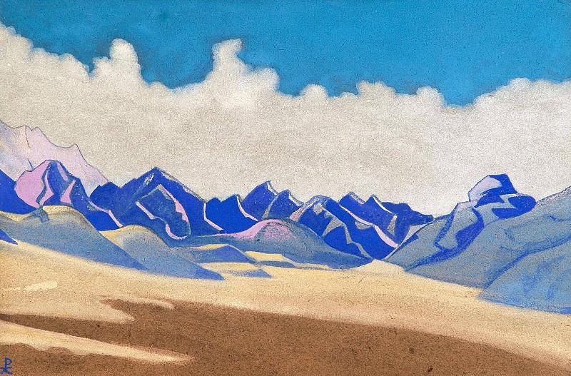 Karakorum. Path to Turkestan # 134. Roerich N.K. (Part 4)