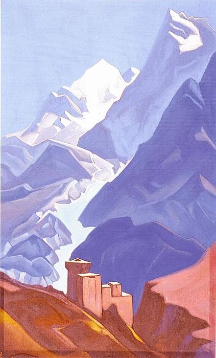 Castle Thakur, Gundlach. Roerich N.K. (Part 4)