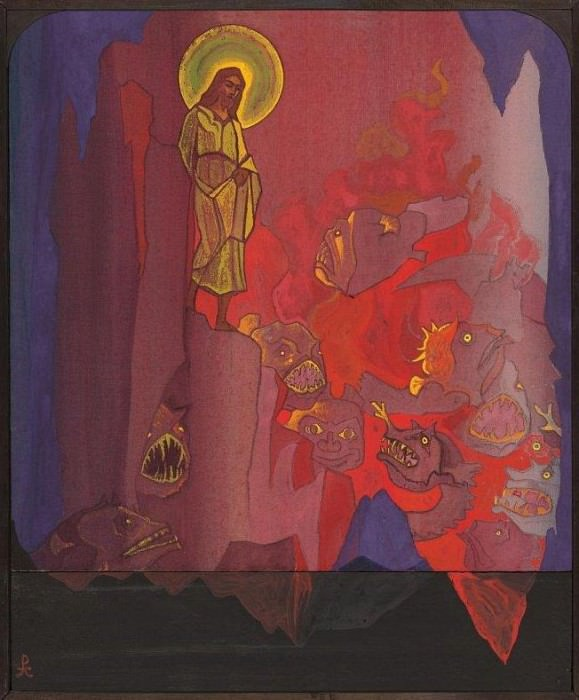 The Descent into Hell # 23. Roerich N.K. (Part 4)