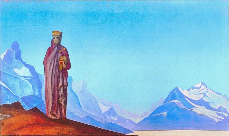 Stone carrier (Derzhatelnitsa World) # 104. Roerich N.K. (Part 4)