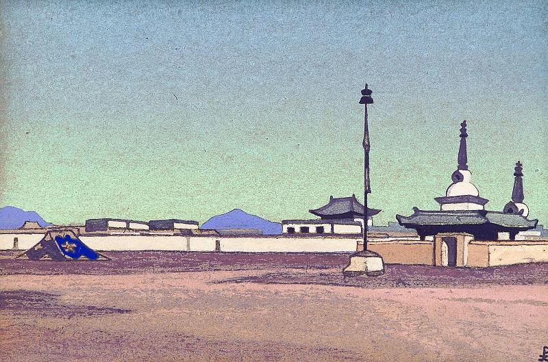 Batuhalka, the capital of Inner Mongolia # 137. Roerich N.K. (Part 4)