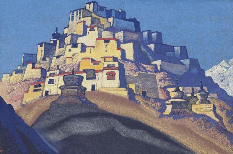 Island resting (rest Resident). Roerich N.K. (Part 4)