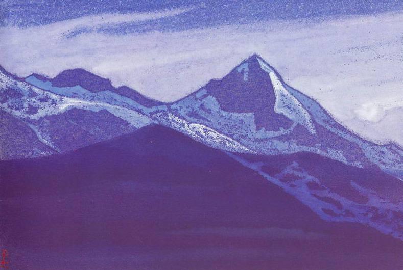Evening # 142 Evening (Approaching night). Roerich N.K. (Part 4)