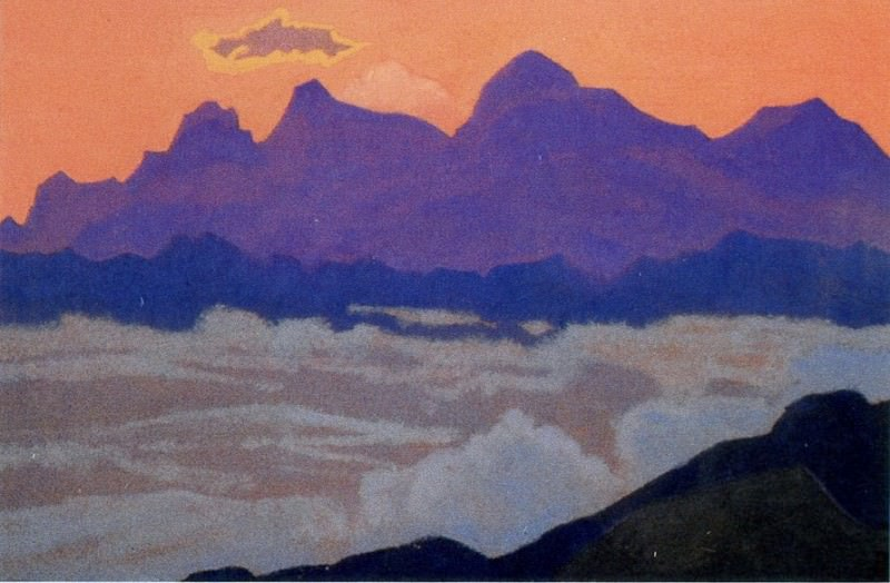 Everest # 84 Everest (Dzhomolungma). Roerich N.K. (Part 4)